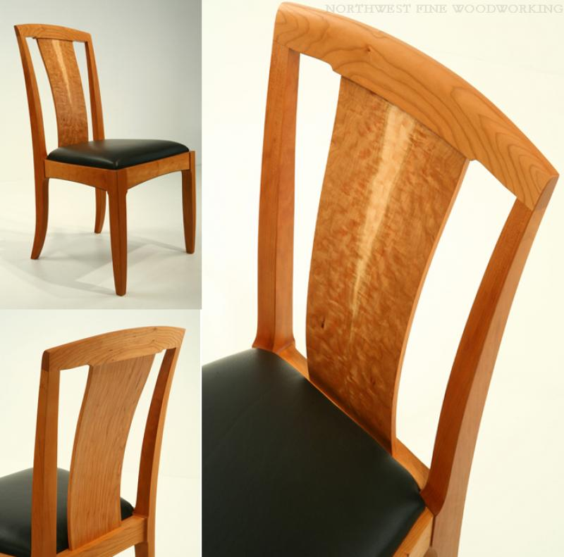 Star Pattern Side Chair