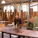 Robert in his workshop